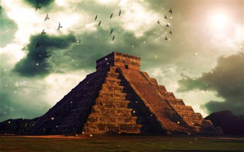 Tutorial Wallpaper Piramide Maya en Photoshop - YouTube