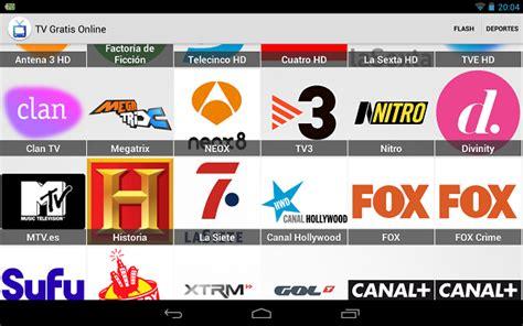 TV Gratis Online, app con canales de TV de todo el mundo ...