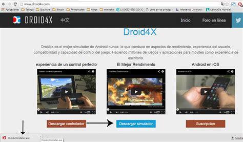 tv gratis, yo lo hago con DROID4x emulador android para PC ...