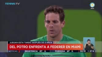 TV Pública Noticias   Del Potro vs. Federer: Hoy en Miami ...