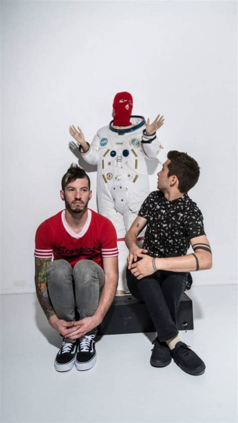Twenty One Pilots...check these guys out.they re pretty ...