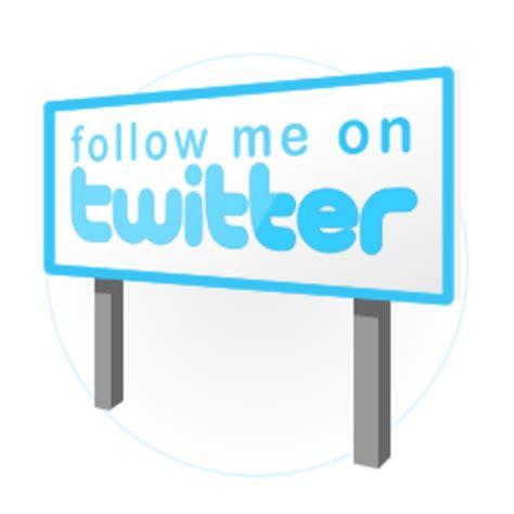 Twitter Follow Me Avecom | Free Images at Clker.com ...