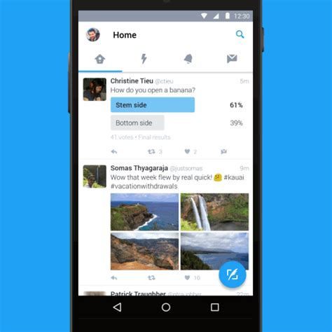 Twitter for Android gets a refresh