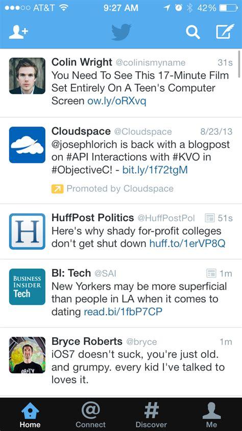 Twitter Screenshots :: Mobile Patterns