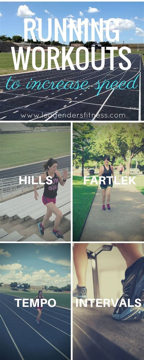 Types of Running Workouts To Increase Speed | Running ...