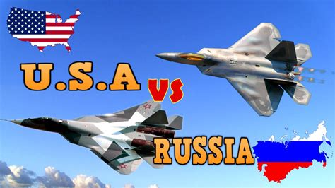 U.S.A Fighter Jets Vs RUSSIAN fighter Jets WORLD WAR 3 ...