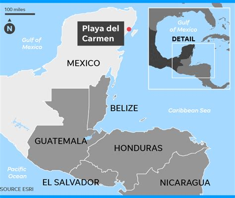U.S. Embassy issues alert against travel to Mexico's Playa ...