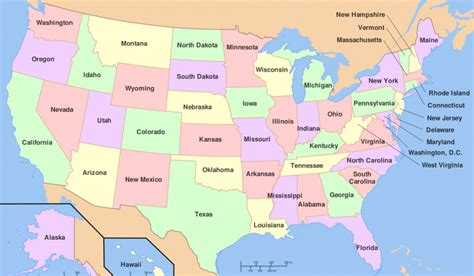 U.S. States Bordering The Most Other States   WorldAtlas.com
