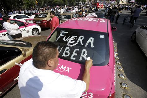 Uber protest in Mexico turns violent and causes street ...