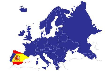 Ubicación de España en el mapa de Europa - Mapa de Europa