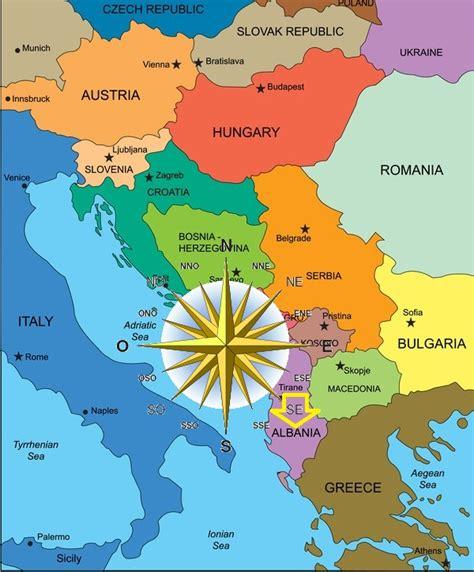 Ubicacion geografica :: Albania