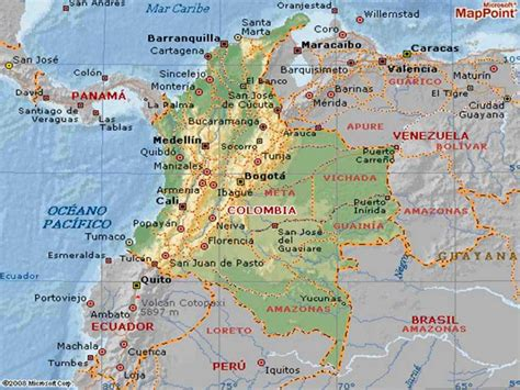 Ubicación Geográfica de Colombia – Turismo en Colombia ...