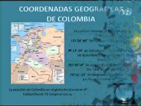 Ubicacion Geografica De Colombia TELE1 - YouTube
