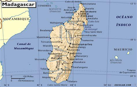 Ubicación geográfica de Madagascar, su clima y más ...