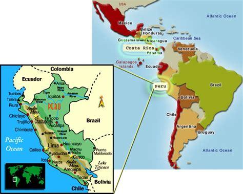 Ubicación geográfica de Perú – Guía Turística de Perú ...
