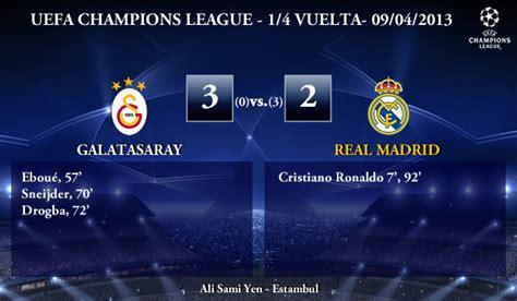 UEFA Champions League   1/4 VUELTA   09/04/2013 ...