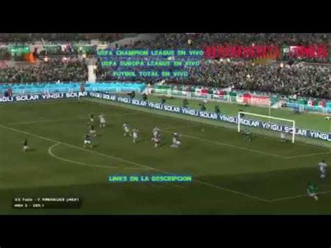 UEFA CHAMPIONS LEAGUE, UEFA EUROPA LEAGUE EN VIVO Y FUTBOL ...