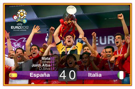 UEFA EURO 2012: España vs Italia (01/07/2012)