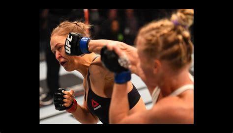 UFC: Ronda Rousey los 13 golpes en el rostro más ...