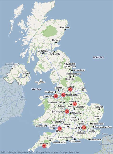 Uk Map - JungleKey.co.uk Image