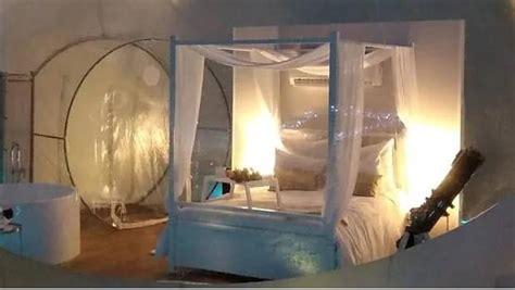 Última moda en hoteles: pasar la noche dentro de una burbuja