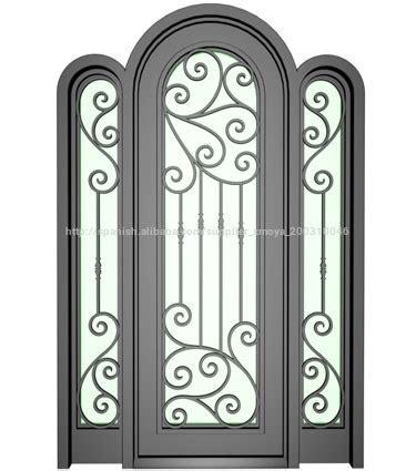 Últimos diseños de puertas de hierro de seguridad frontal ...
