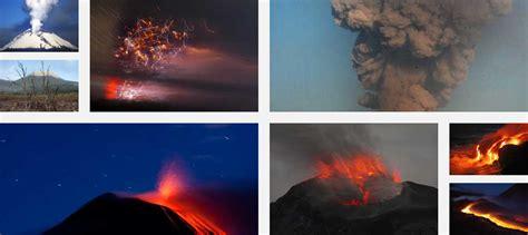 Últimos volcanes en erupción