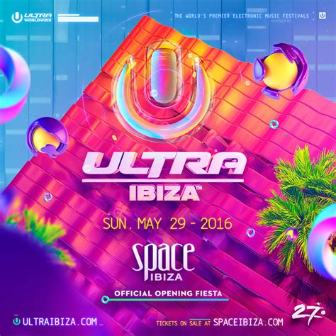 Ultra Music Festival Ibiza 2016, May 29, Ibiza, Spain ...
