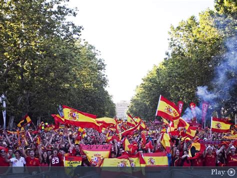 Ultras of Spain: España - Italia, Final Euro 2012