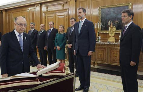 Un análisis protocolario del nuevo gobierno de España - Carep