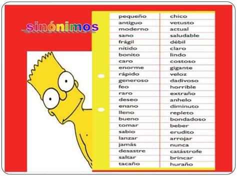 Un blog con todas las letras: ¿Sabes qué es un sinónimo?