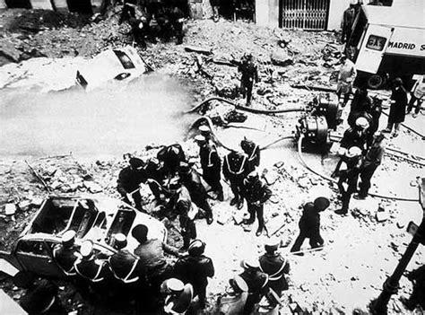 Un comando anarquista intentó matar a Carrero Blanco en ...