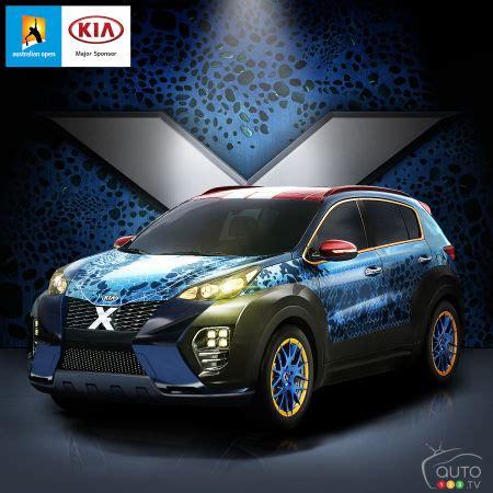 Un Kia Sportage aux couleurs du film X Men Apocalypse ...