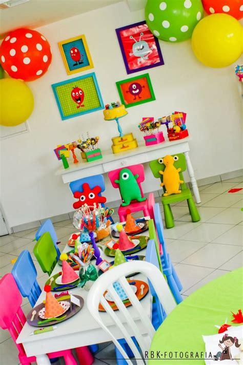 Un original cumpleaños infantil de monstruos   Pequeocio