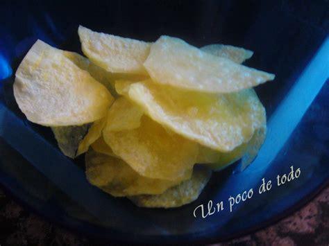 Un poco de todo: Patatas chips al microondas