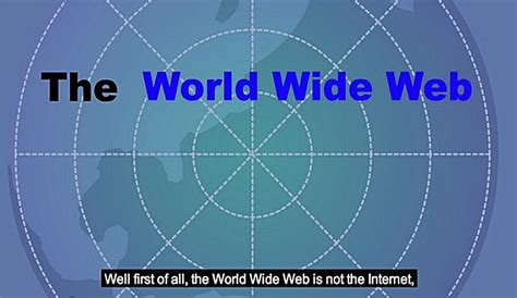 Un vídeo nos explica ¿qué es la World Wide Web? - Nerdilandia