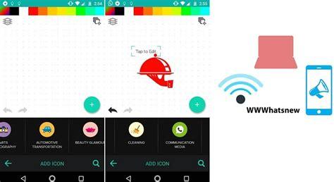 Una app para crear logotipo gratis en Android