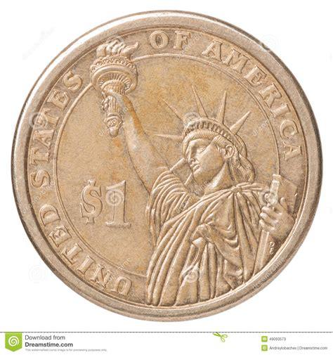 Una Moneda De Dólar Americano Foto de archivo   Imagen ...