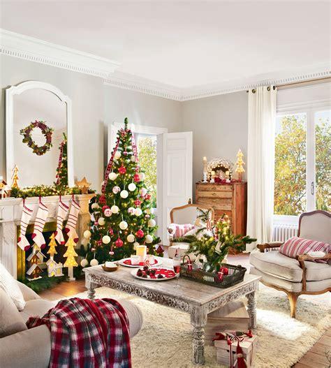 Una Navidad en rojo y verde: 15 ideas para decorar tu casa