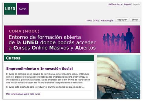 UNED Abierta, proyecto español de cursos libres y gratuitos