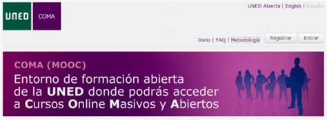 UNED COMA. Cursos on line gratuitos y en español sobre ...