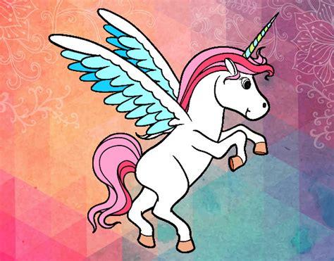 Unicornio caricatura con alas - Thepix.info