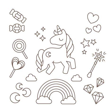 Unicornio de Dibujo 】 Los mas bonitos para colorear y ...