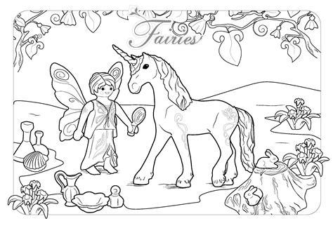 unicornio e fada para colorir   Criando com Apego