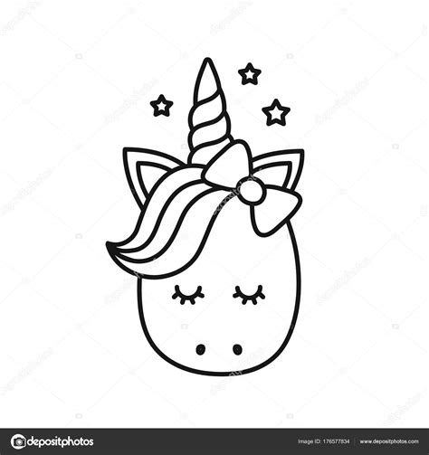 unicornio para colorear - Baskan.idai.co