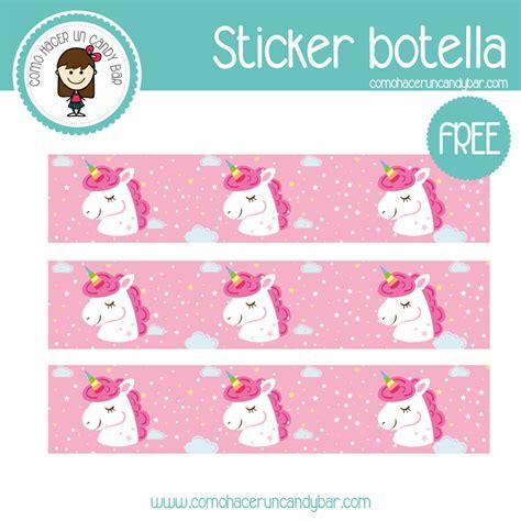 Unicornio: Sticker para imprimir – Imprimibles GRATIS para ...