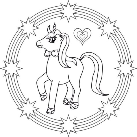 Unicornios: Mandalas y Zentangles con Pegasus para ...