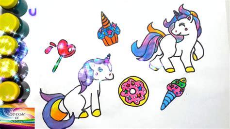 unicornios / video para criancinhas / desenho de ...