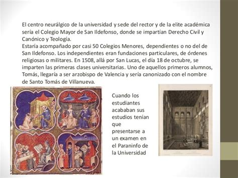 Unidad didáctica la Universidad Cisneriana