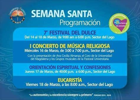 UniMagdalena celebra Semana 'Santa' ~ De Avanzada